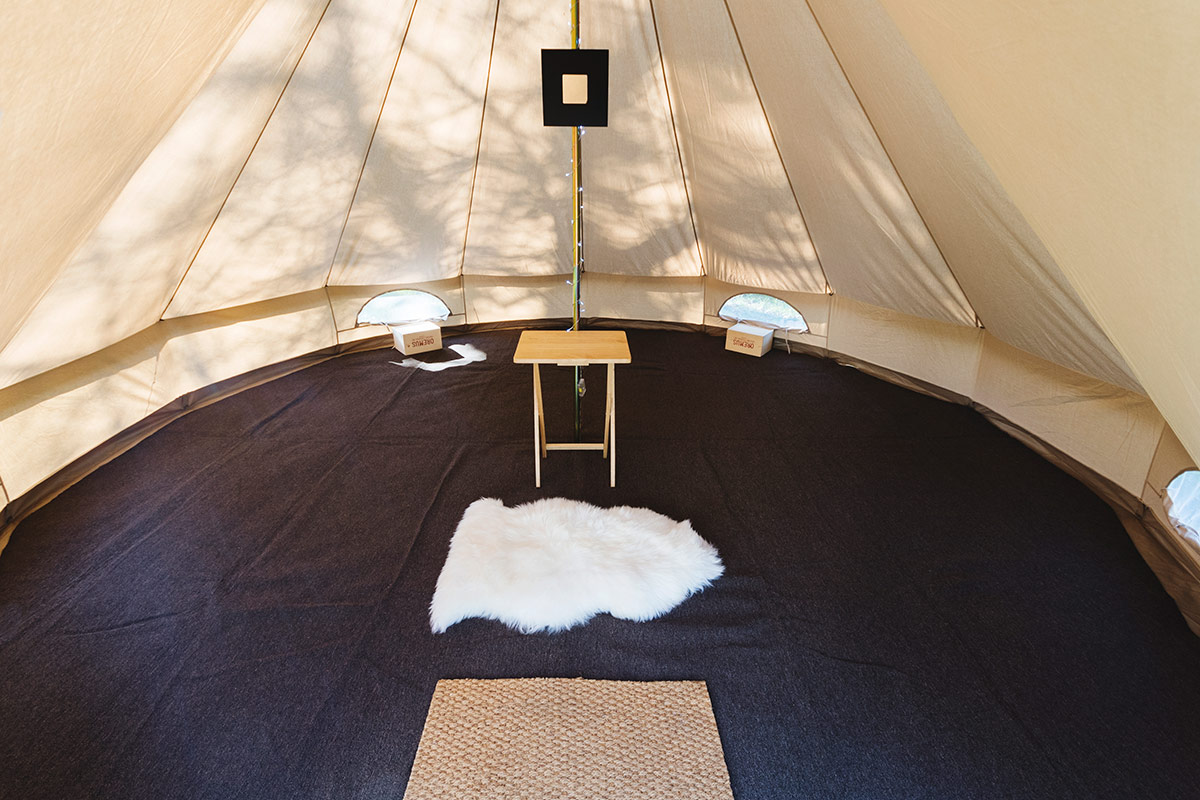 Garden Glamping Classic 6 Person Bell Tent