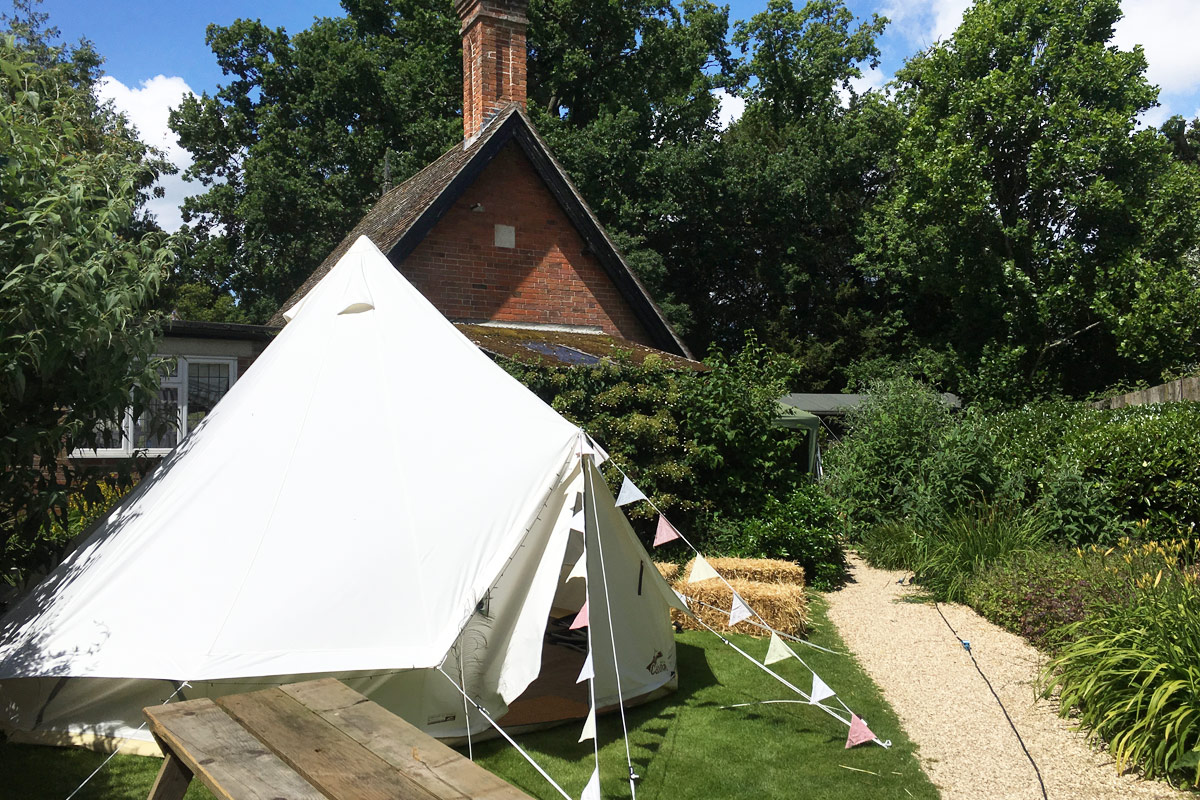 Bell Tent Hire for Home