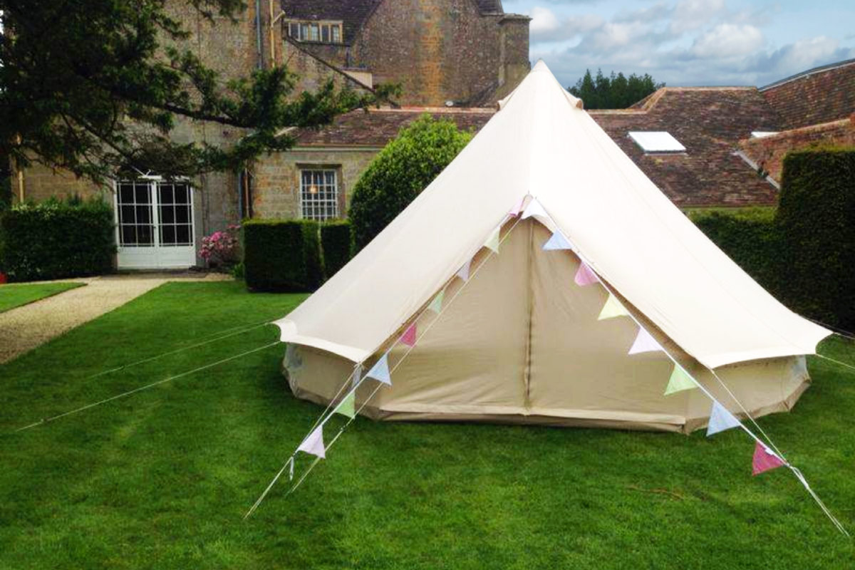 Residential Bell Tent Hire