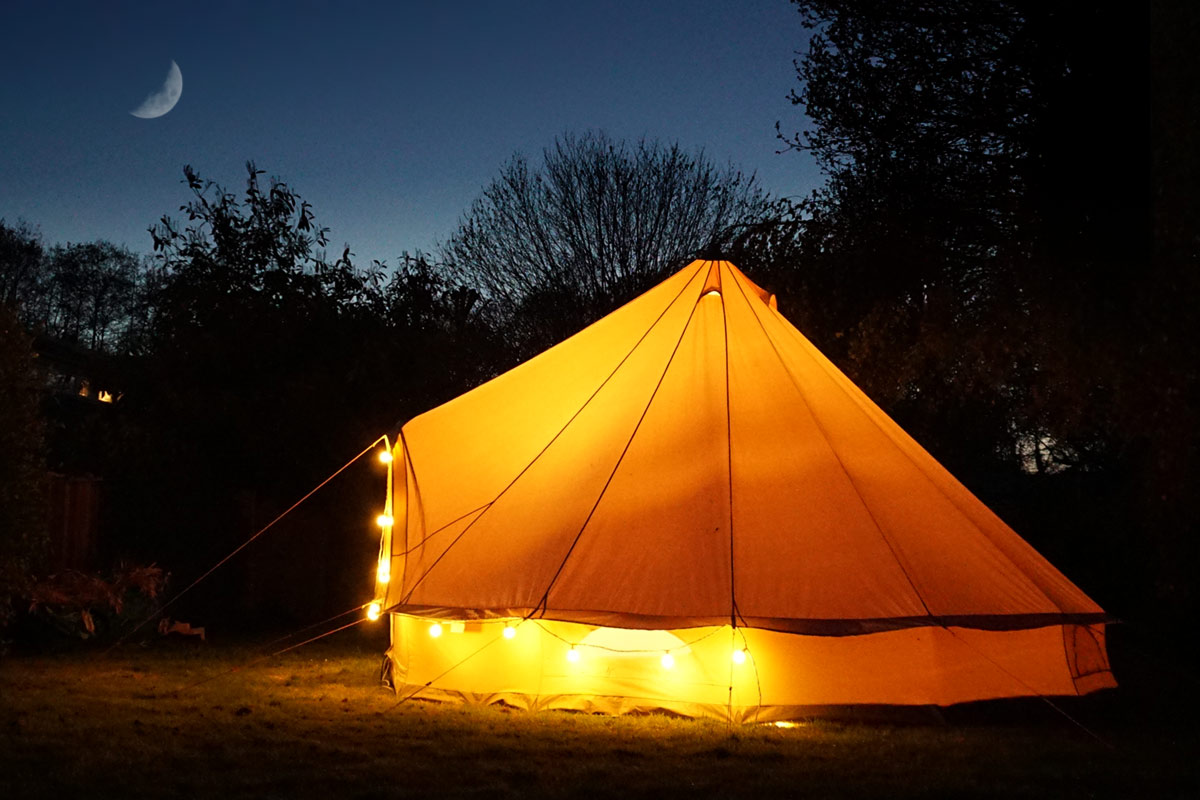Back Garden Glamping Hire